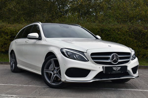 2015 Mercedes C300h AMG Premium Estate (65) SOLD