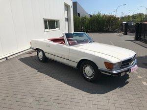 1972 Mercedes benz 350SL top condition