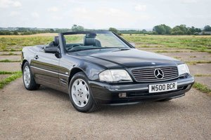 1998 Mercedes R129 SL500 - 69k Miles - FSH - Black/Black For Sale