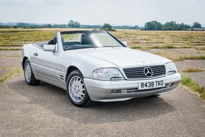 1998 Mercedes R129 SL320 - 82k Miles - FSH - Silver/Black For Sale