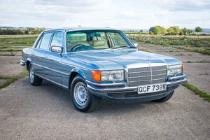 1979 Mercedes W116 450SEL 6.9 - Rare Super-Saloon Project For Sale