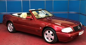 1998 Mercedes SL320 Only 7,700 Miles For Sale