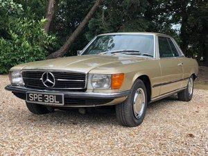 1972 Mercedes benz 350slc automatic