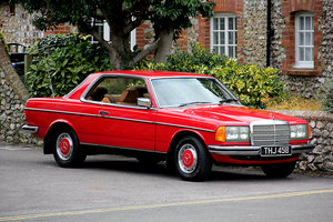 1977 Mercedes Coupe in exceptional condition  SOLD