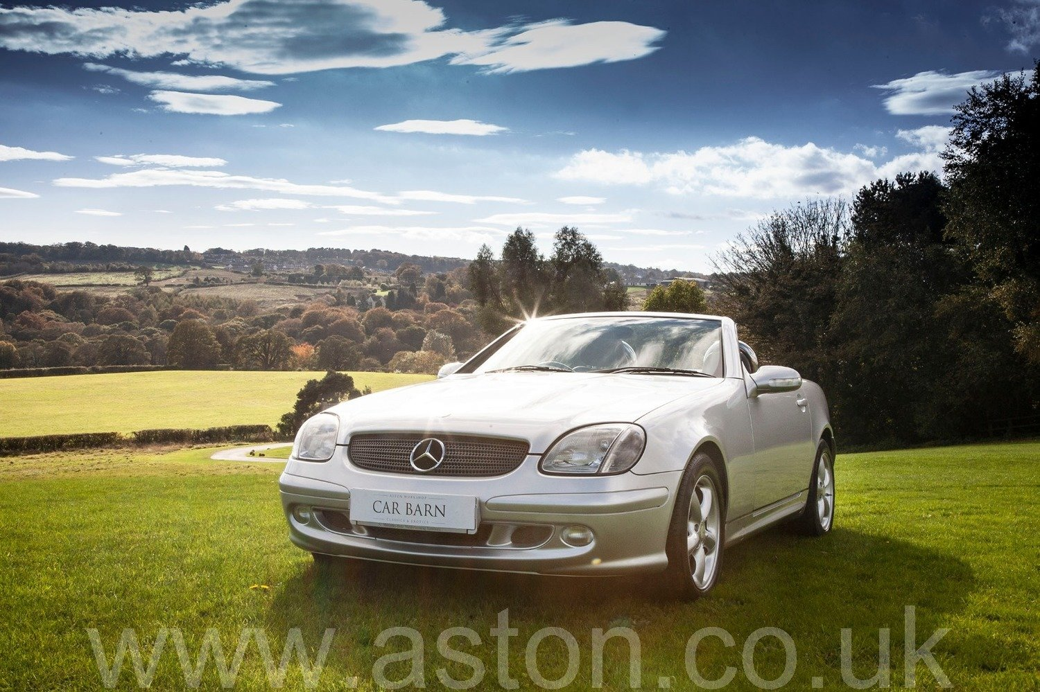 2001 Mercedes SLK 320 Auto SOLD (picture 1 of 6)