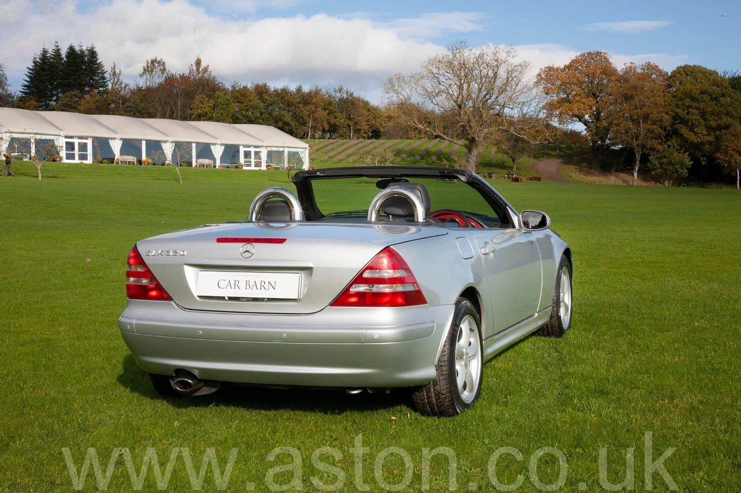 2001 Mercedes SLK 320 Auto SOLD (picture 4 of 6)