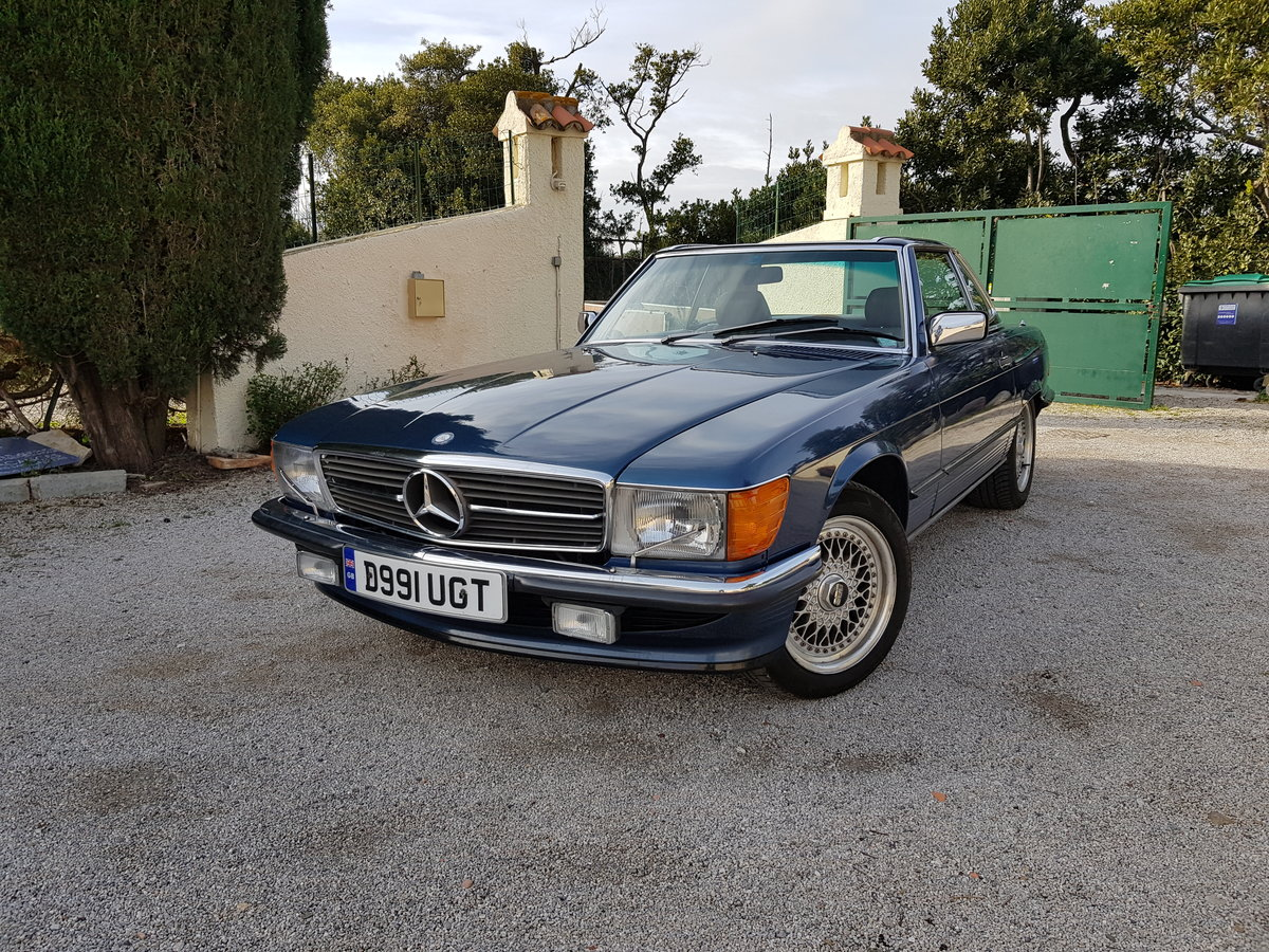 REDUCED 420SL Mercedes (R107) 1988 low miles (LHD) For Sale (picture 2 of 6)