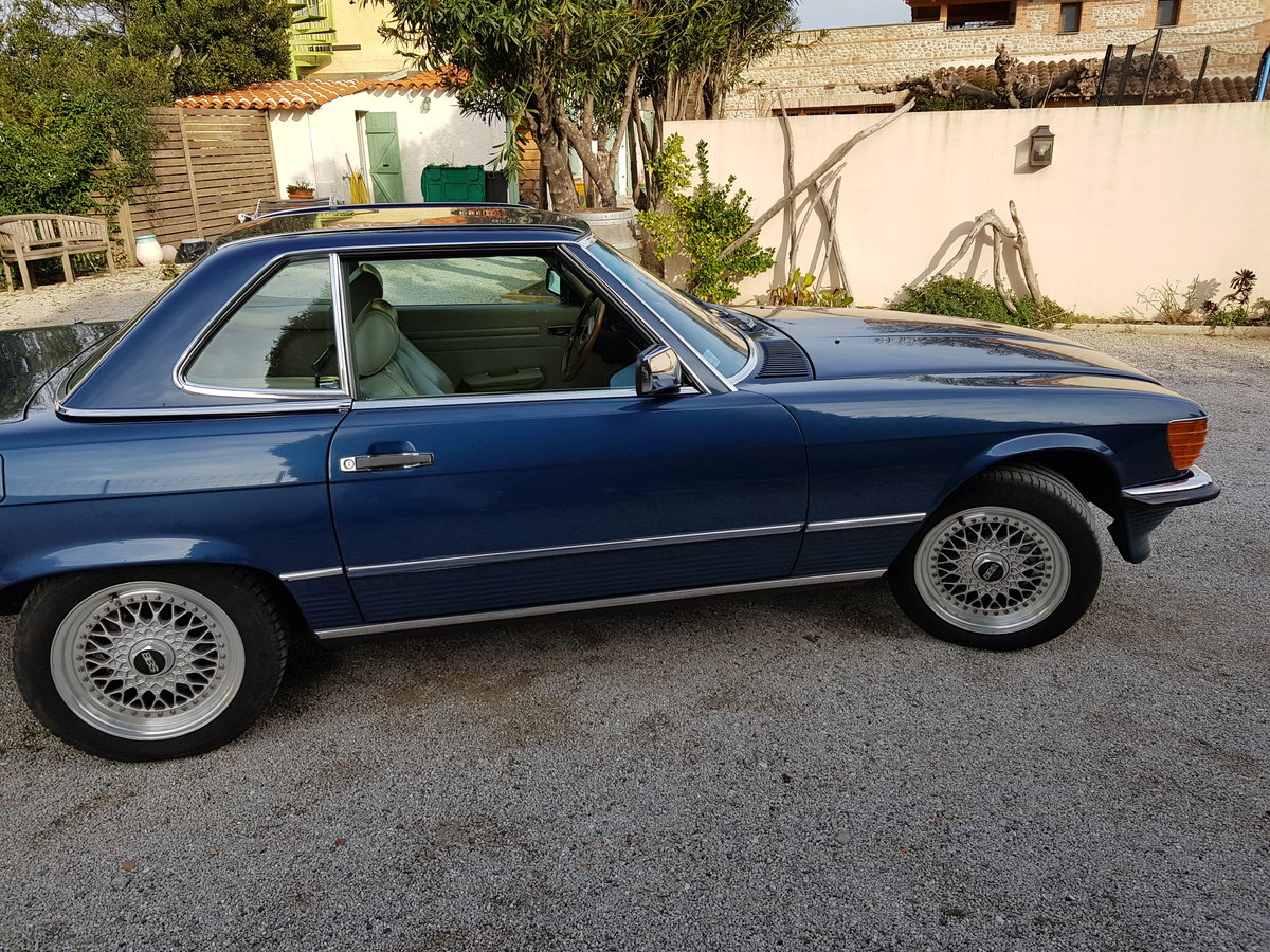 REDUCED 420SL Mercedes (R107) 1988 low miles (LHD) For Sale (picture 4 of 6)