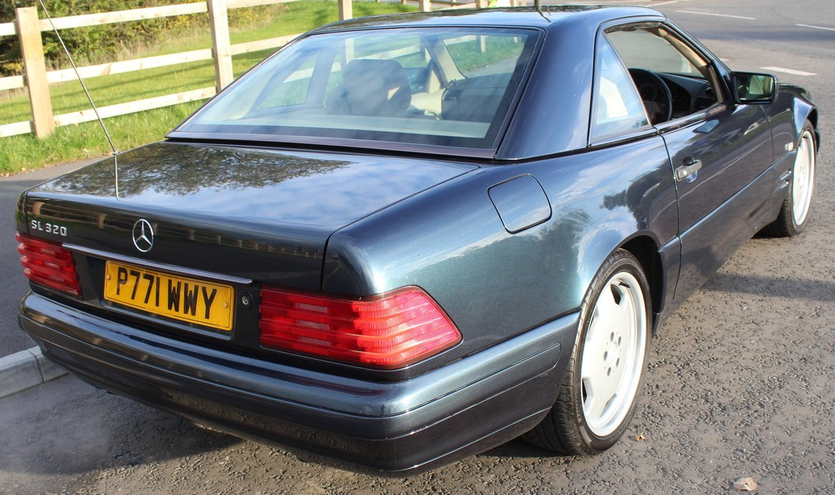 1997 Mercedes Benz R129 SL320 Sports Automatic For Sale (picture 2 of 6)