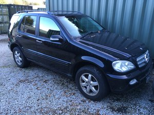 2002 Mercedes ML500, spares or repairs  For Sale