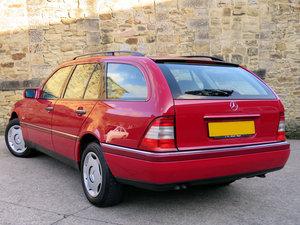 1997 Mercedes S202 C250TD Eleg. Estate-53K -1 Ownr-Like New SOLD For Sale