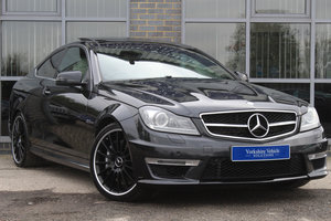 2013 13 MERCEDES BENZ C63 AMG COUPE AUTO For Sale