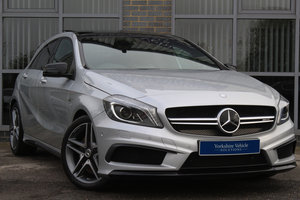 2014 64 MERCEDES BENZ A CLASS 2.0 A45 AMG 7G DCT 4MATIC AUTO For Sale