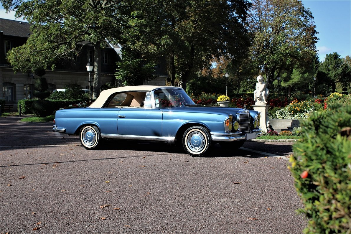 1968 – Mercedes-Benz 280 SE Cabriolet For Sale (picture 1 of 5)