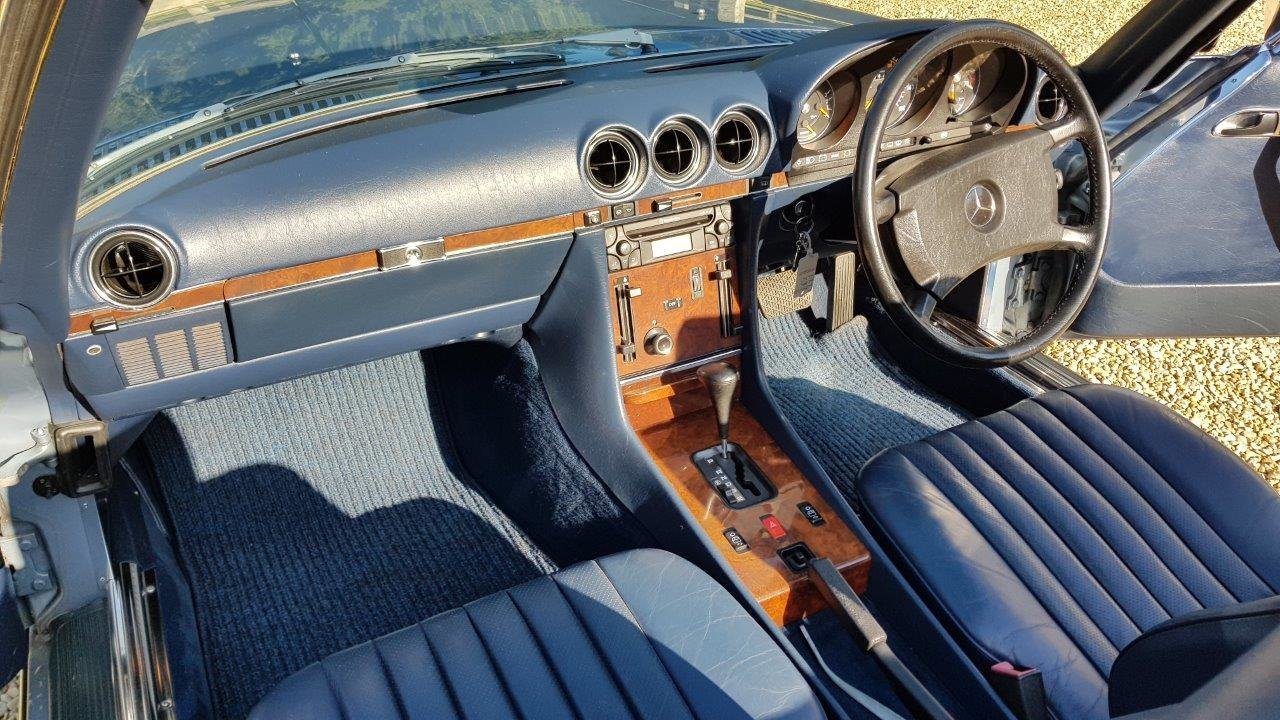 1988 Mercedes 300SL R107 -Family owned, full MB dealer s/h For Sale (picture 5 of 6)
