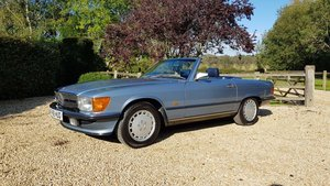 1988 Mercedes 300SL R107 -Family owned, full MB dealer s/h