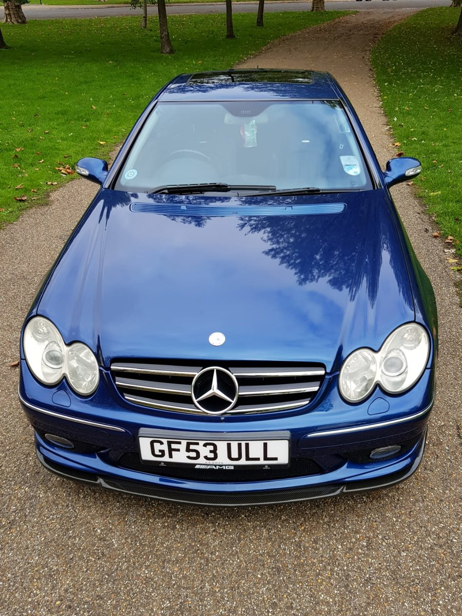 2003 Mercedes Benz CLK 55 AMG For Sale (picture 1 of 6)