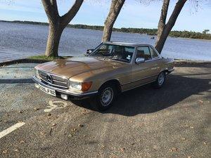 1984 Mercedes 380 SL  Last owner 30 years in beautiful