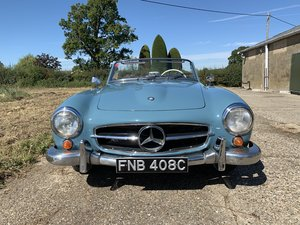 1957 Mercedes 190SL  LHD with factory hard top  For Sale