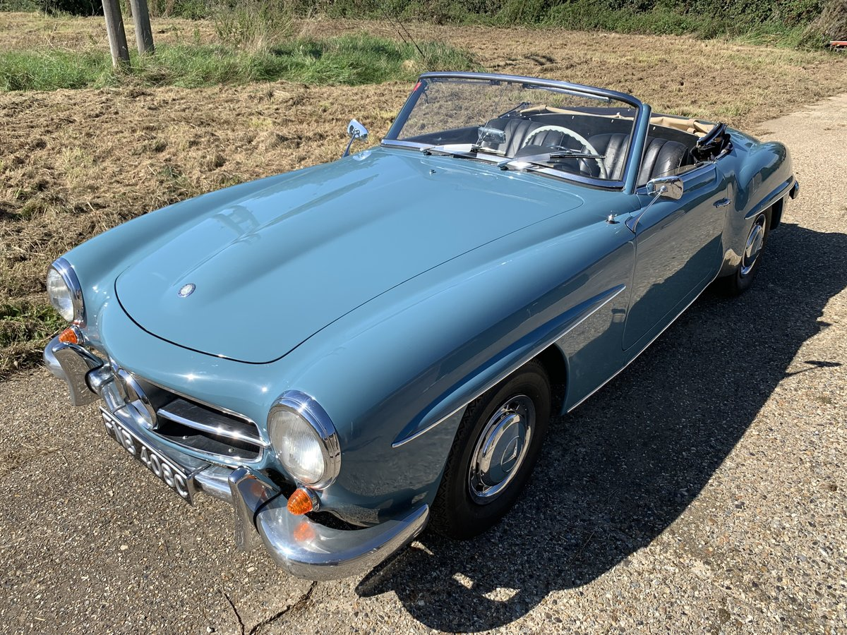 1957 Mercedes 190SL  LHD with factory hard top  For Sale (picture 2 of 6)