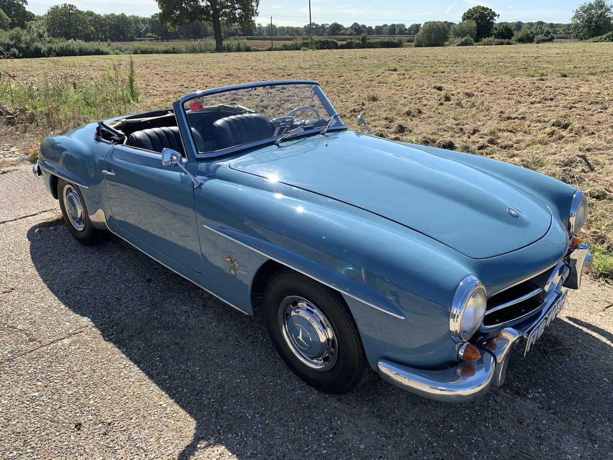 1957 Mercedes 190SL  LHD with factory hard top  For Sale (picture 6 of 6)