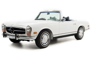 1971 Mercedes 280SL Pagoda Restored Ivory(~)Navy AT $124.5k For Sale