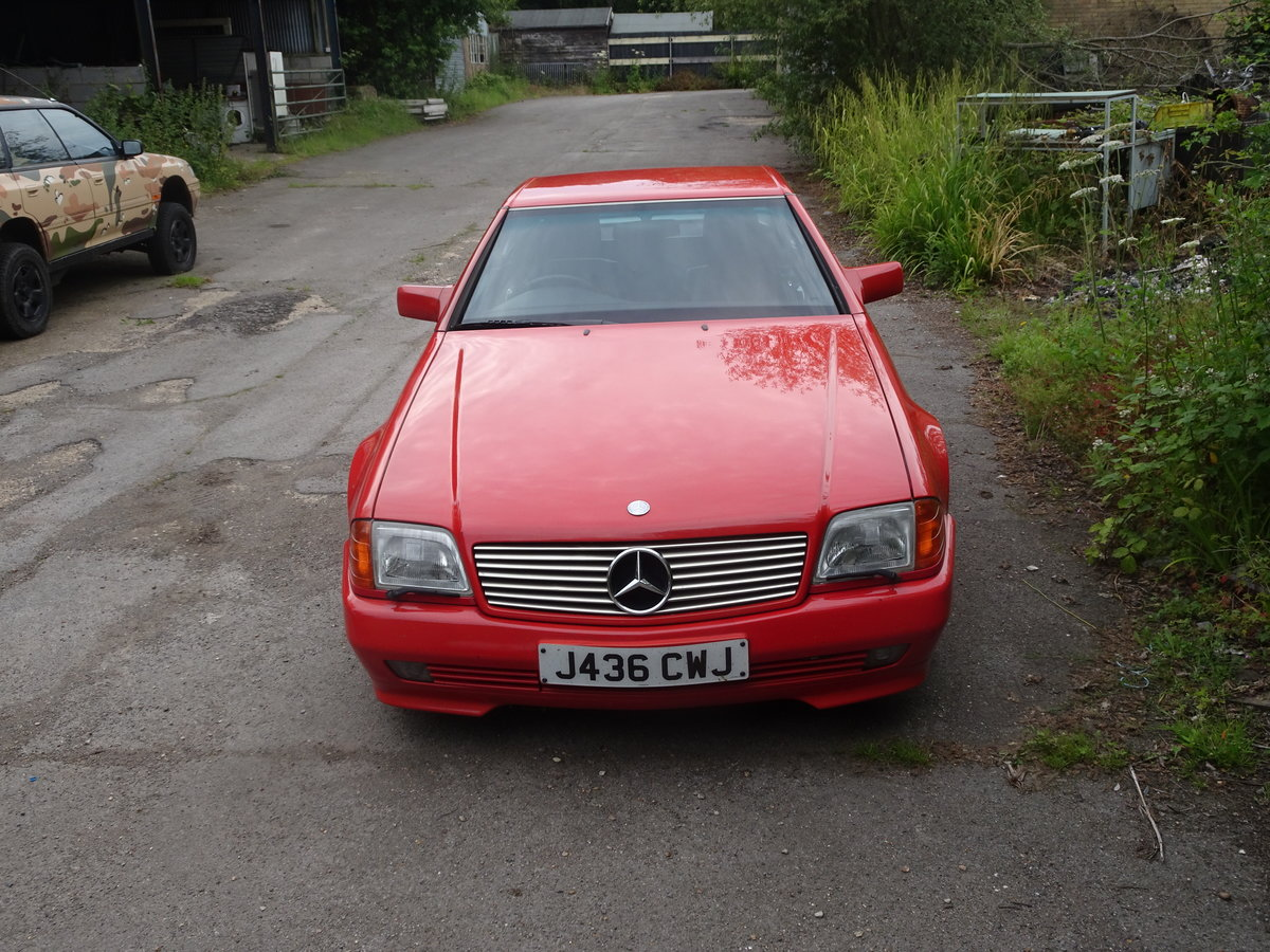 1992 Mercedes sl 300 great investmant For Sale (picture 6 of 6)