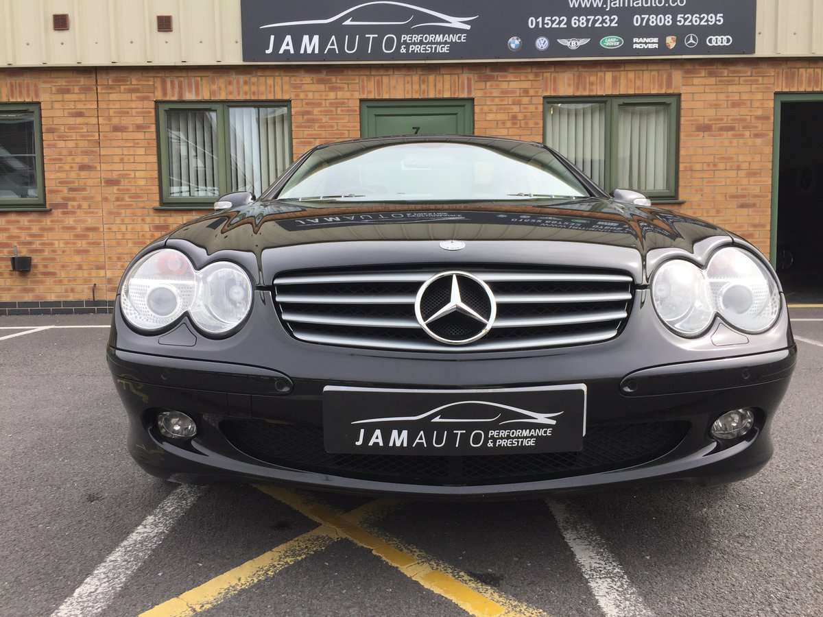 2002 SL500 FSH 2 owner genuine For Sale (picture 1 of 6)