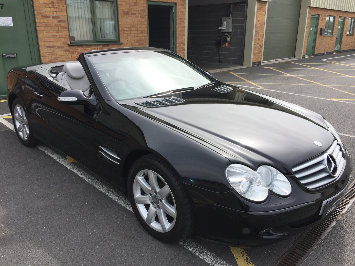 2002 SL500 FSH 2 owner genuine For Sale (picture 2 of 6)