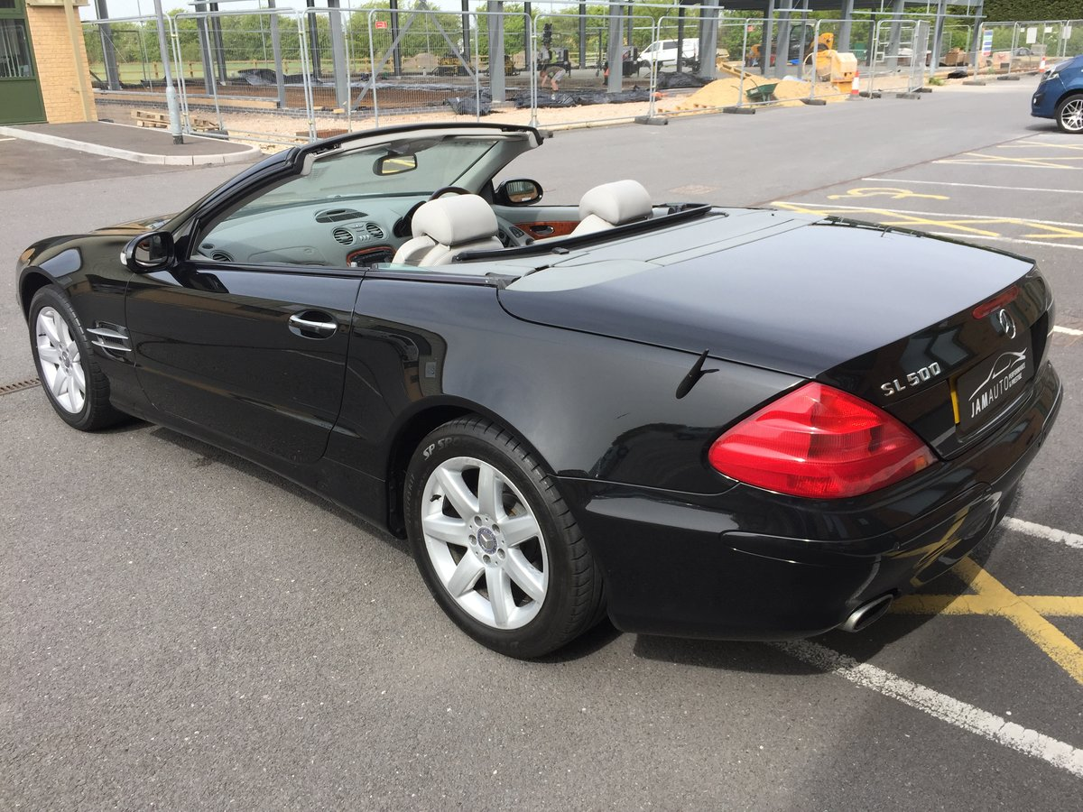 2002 SL500 FSH 2 owner genuine For Sale (picture 4 of 6)