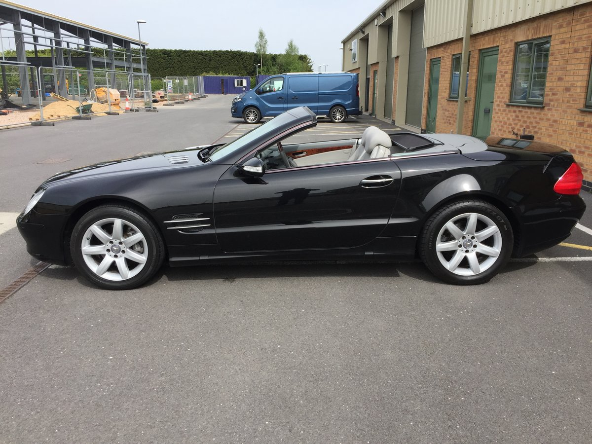 2002 SL500 FSH 2 owner genuine For Sale (picture 5 of 6)