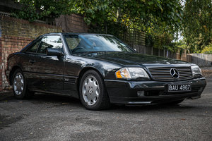 1992 Mercedes-Benz 600SL Just 4904 miles For Sale by Auction