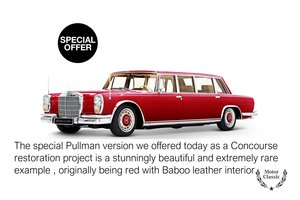 600 Pullman LWB Restoration project for a Collecto
