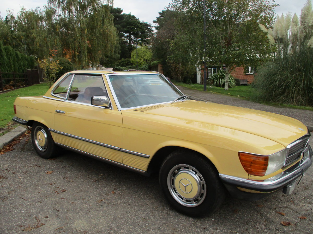 Mercedes 280 SL 1980 W Reg 65,700 Miles Only 2 Owners For Sale (picture 1 of 22)