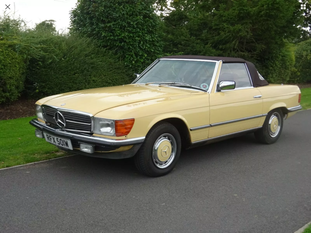 Mercedes 280 SL 1980 W Reg 65,700 Miles Only 2 Owners For Sale (picture 2 of 22)