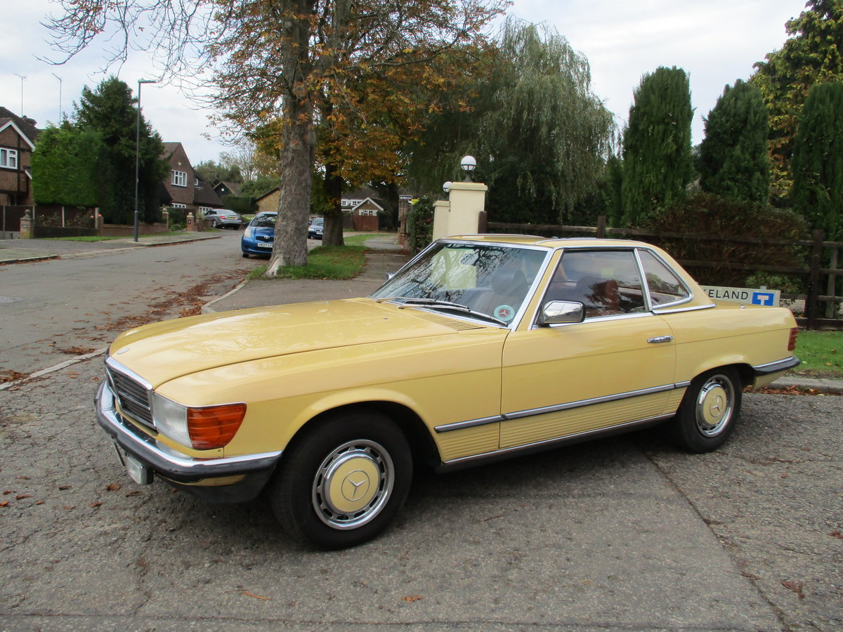 Mercedes 280 SL 1980 W Reg 65,700 Miles Only 2 Owners For Sale (picture 3 of 22)