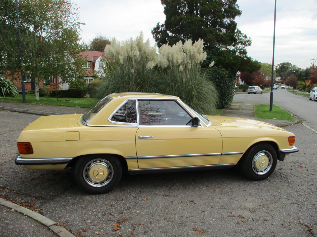 Mercedes 280 SL 1980 W Reg 65,700 Miles Only 2 Owners For Sale (picture 7 of 22)