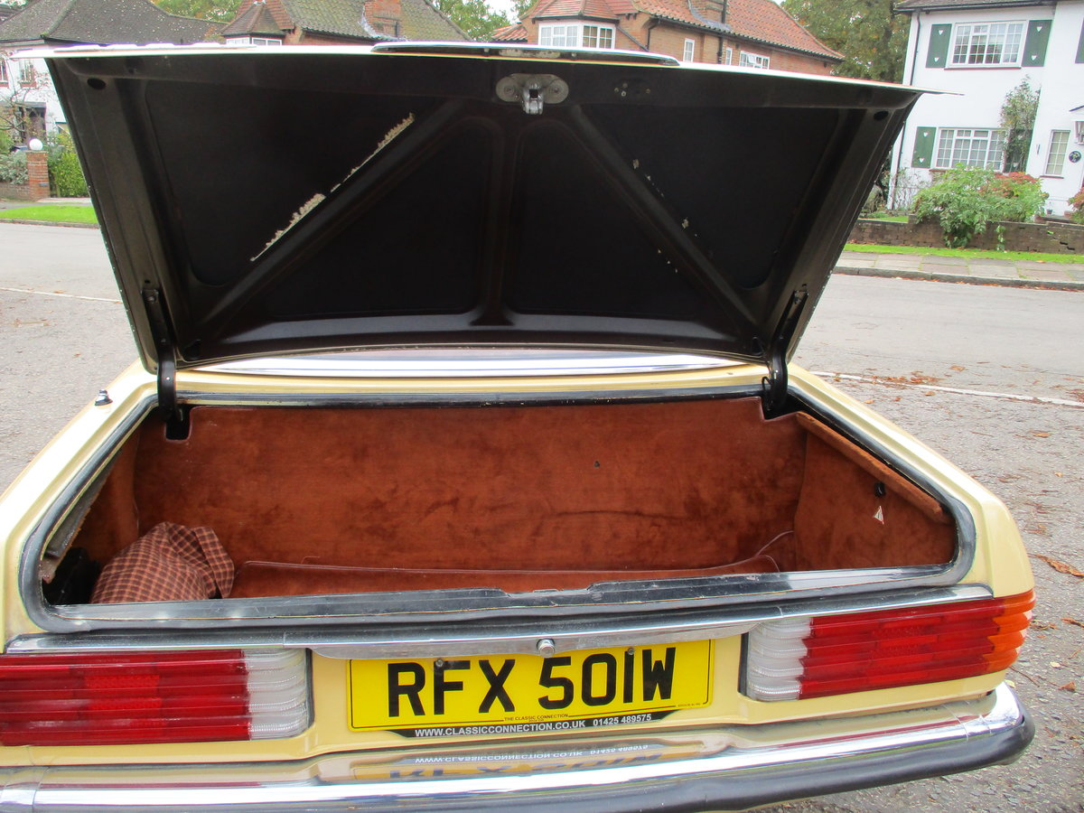 Mercedes 280 SL 1980 W Reg 65,700 Miles Only 2 Owners For Sale (picture 8 of 22)