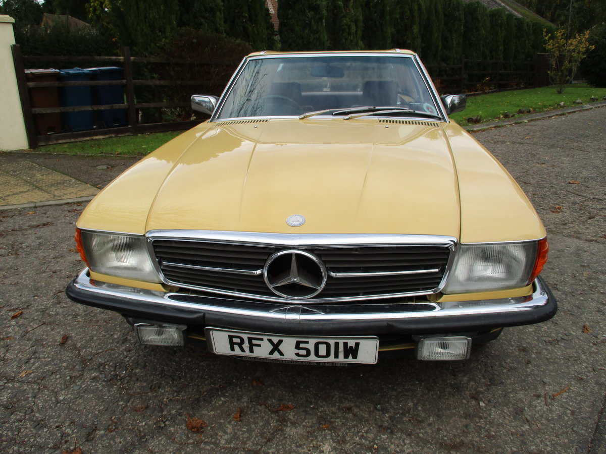 Mercedes 280 SL 1980 W Reg 65,700 Miles Only 2 Owners For Sale (picture 9 of 22)