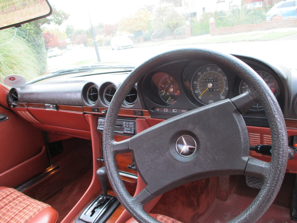 Mercedes 280 SL 1980 W Reg 65,700 Miles Only 2 Owners For Sale (picture 11 of 22)