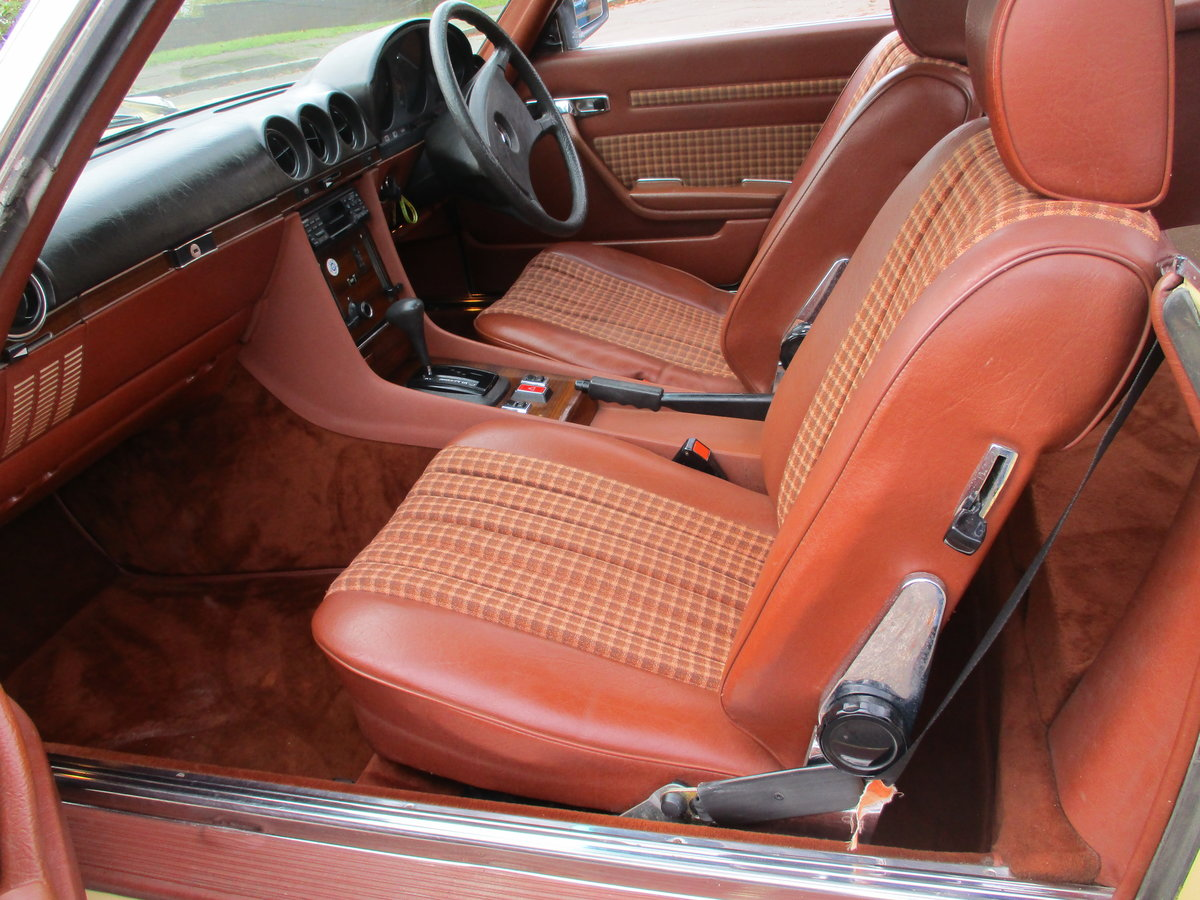 Mercedes 280 SL 1980 W Reg 65,700 Miles Only 2 Owners For Sale (picture 14 of 22)
