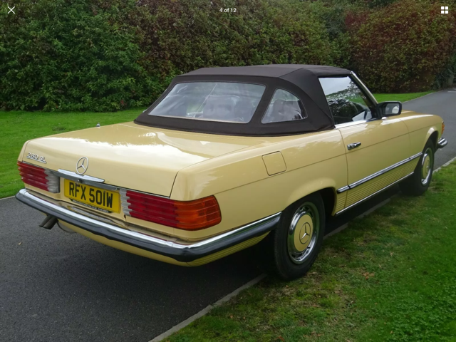 Mercedes 280 SL 1980 W Reg 65,700 Miles Only 2 Owners For Sale (picture 16 of 22)