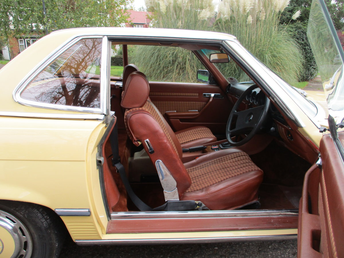 Mercedes 280 SL 1980 W Reg 65,700 Miles Only 2 Owners For Sale (picture 19 of 22)