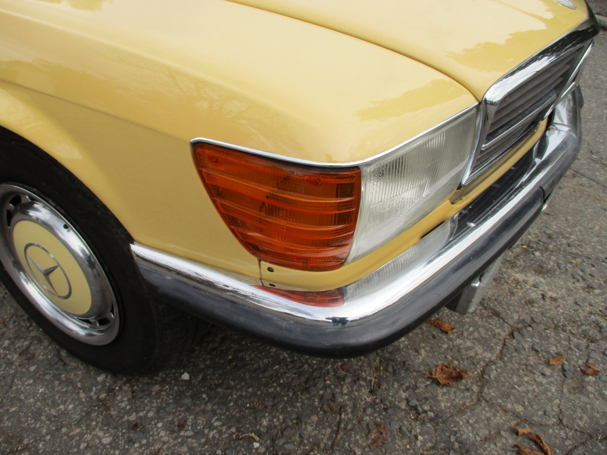 Mercedes 280 SL 1980 W Reg 65,700 Miles Only 2 Owners For Sale (picture 21 of 22)