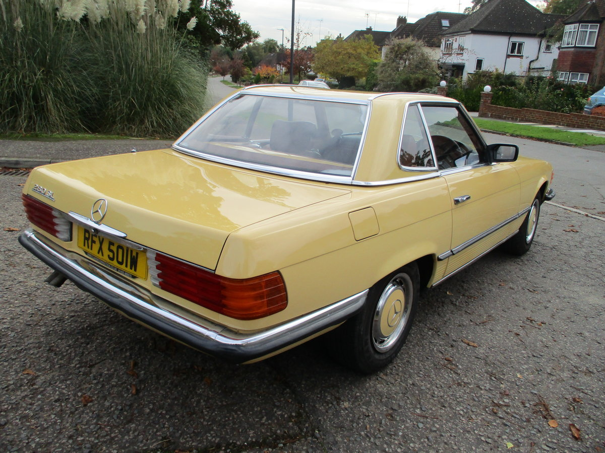 Mercedes 280 SL 1980 W Reg 65,700 Miles Only 2 Owners For Sale (picture 22 of 22)