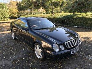 2001 Mercedes CLK55 AMG Designo SOLD