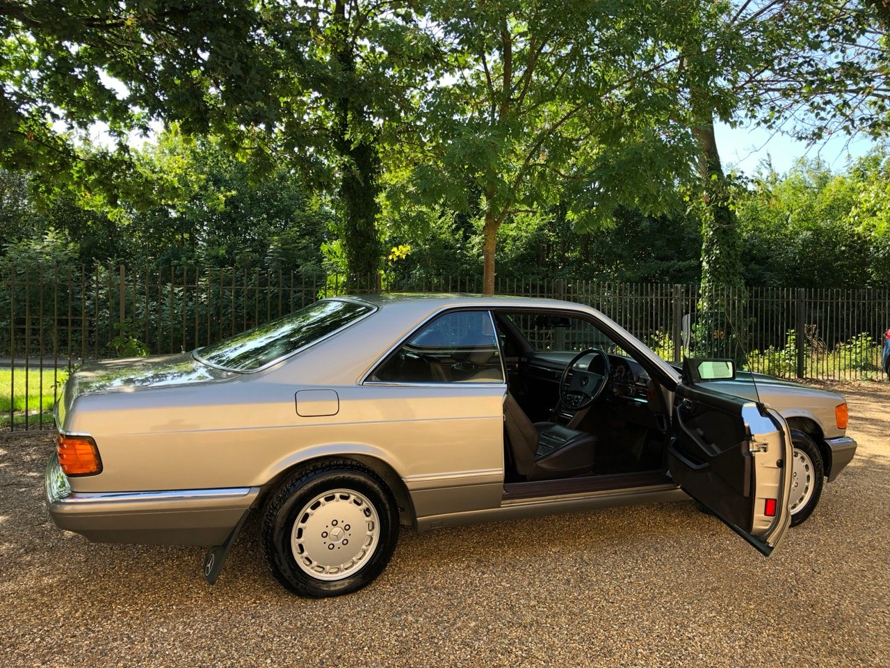 1988 Mercedes 500SEC C126 *SOLD* 46k miles. 560SEC 420  For Sale (picture 1 of 6)