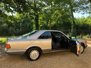 1988 Mercedes 500SEC C126 *SOLD* 46k miles. 560SEC 420  For Sale