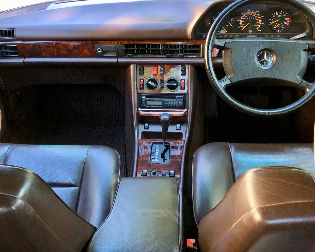 1988 Mercedes 500SEC C126 *SOLD* 46k miles. 560SEC 420  For Sale (picture 3 of 6)