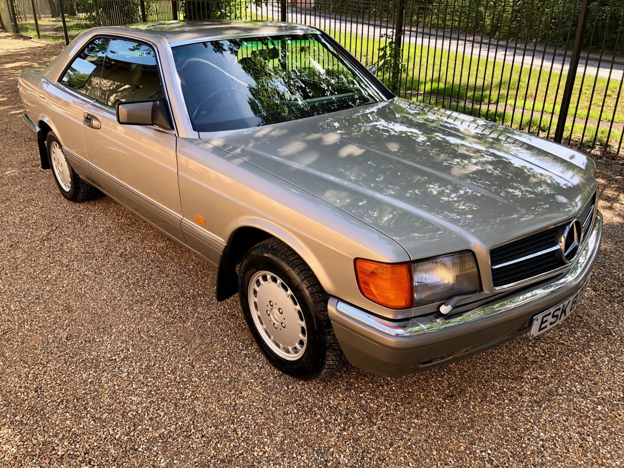 1988 Mercedes 500SEC C126 *SOLD* 46k miles. 560SEC 420  For Sale (picture 4 of 6)
